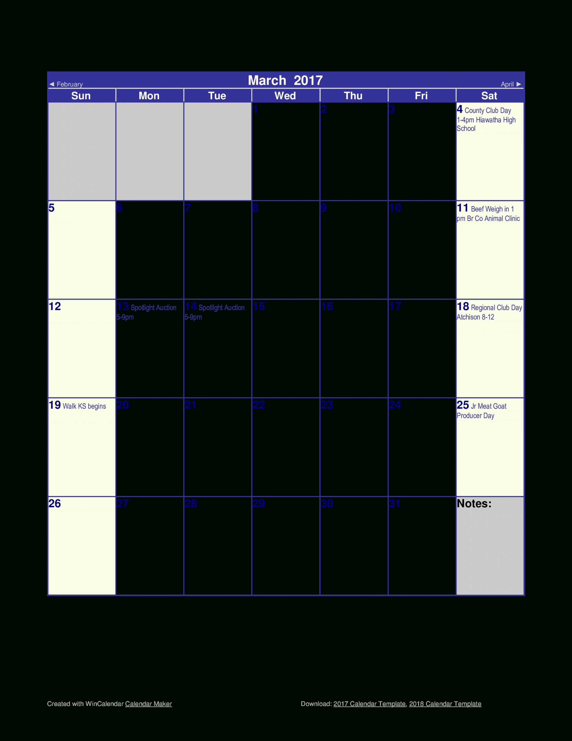 Blank Monthly Calendar | Templates At Allbusinesstemplates-Printable Fill In Calendar By Month