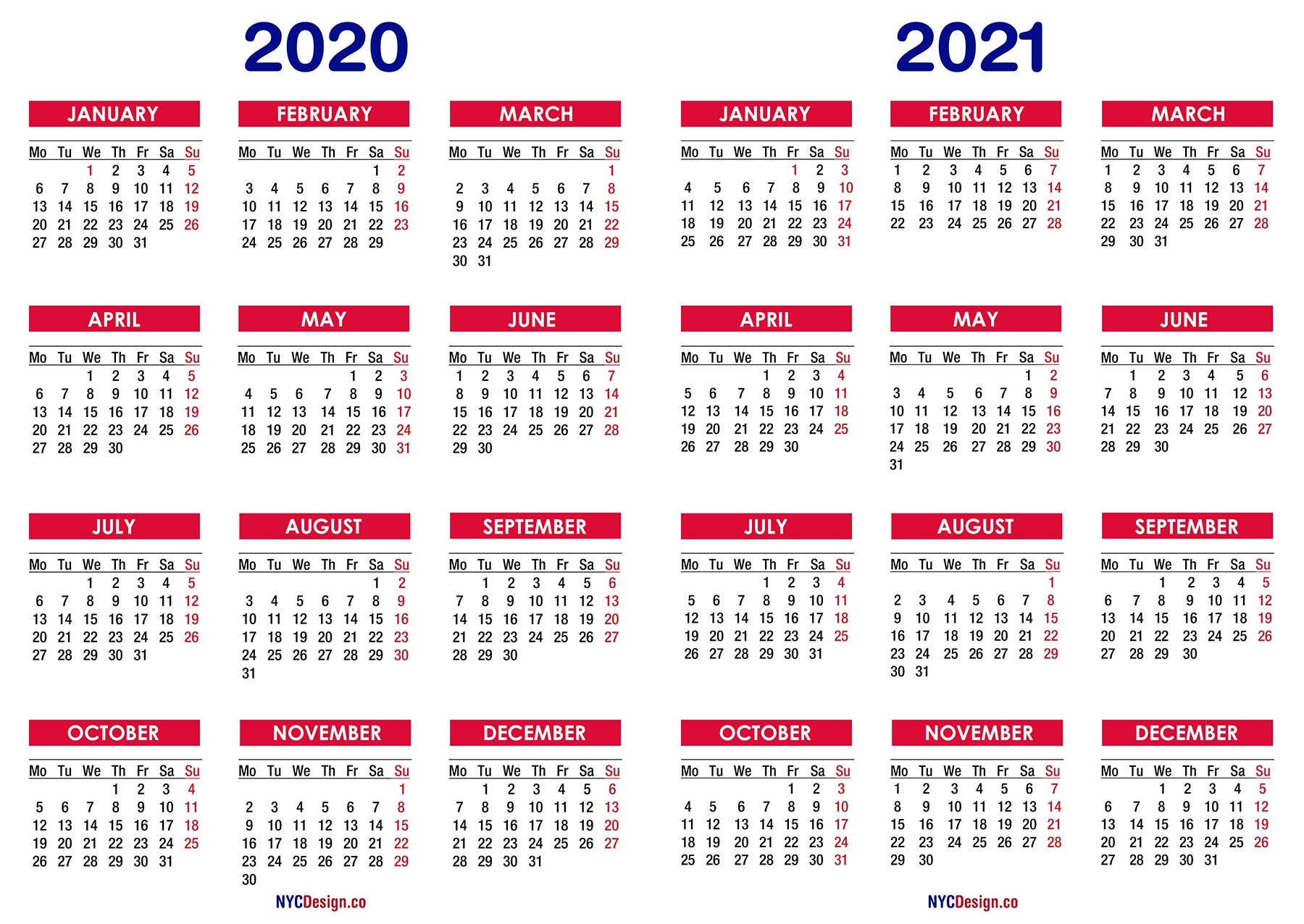 Calendar 2020 To 2021 | Calendar Printables Free Templates-Free Fill In Calendars 2021