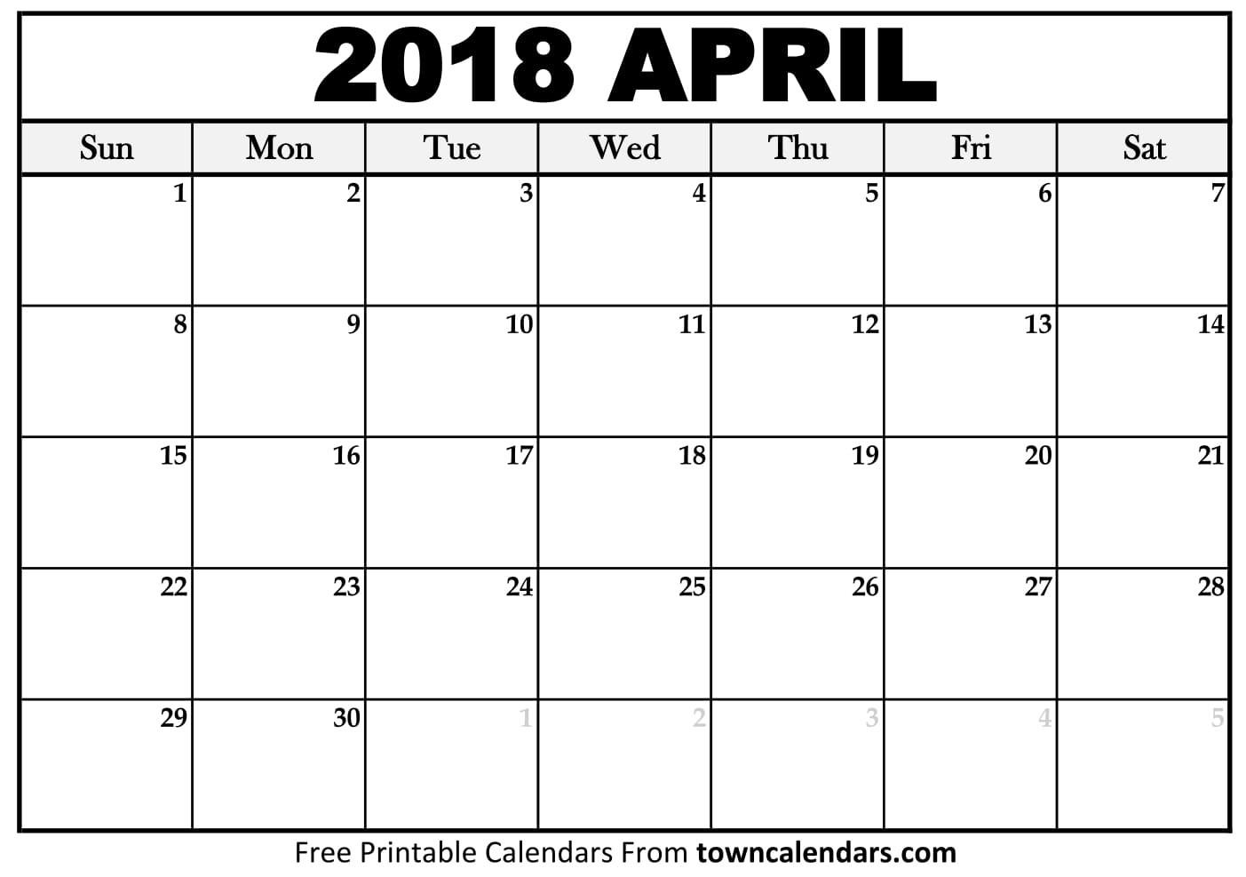 Calendar For April 2018   Qualads-12 Hour Shift Calendar 2021