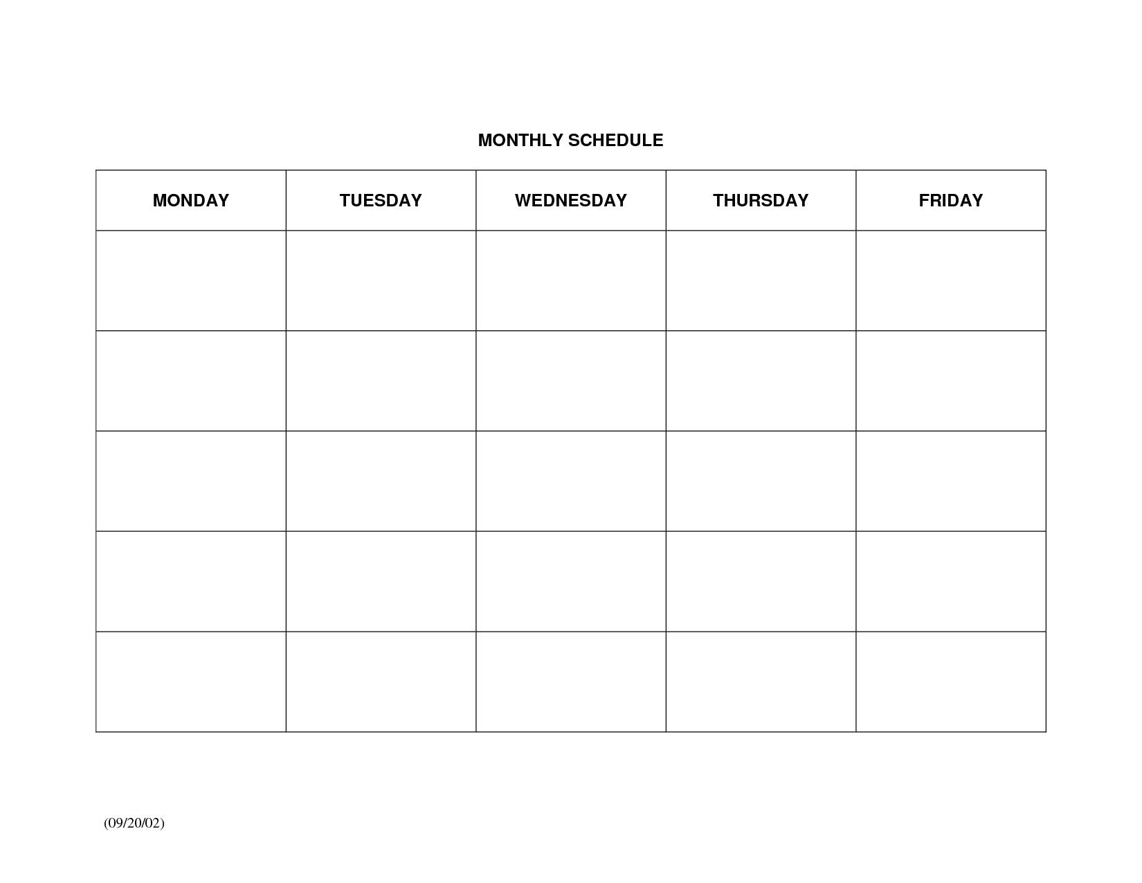 Collect Large Blank Monthly Calendar To Fill In ⋆ The Best Printable Calendar Collection-Free Fill In Printable Calendars