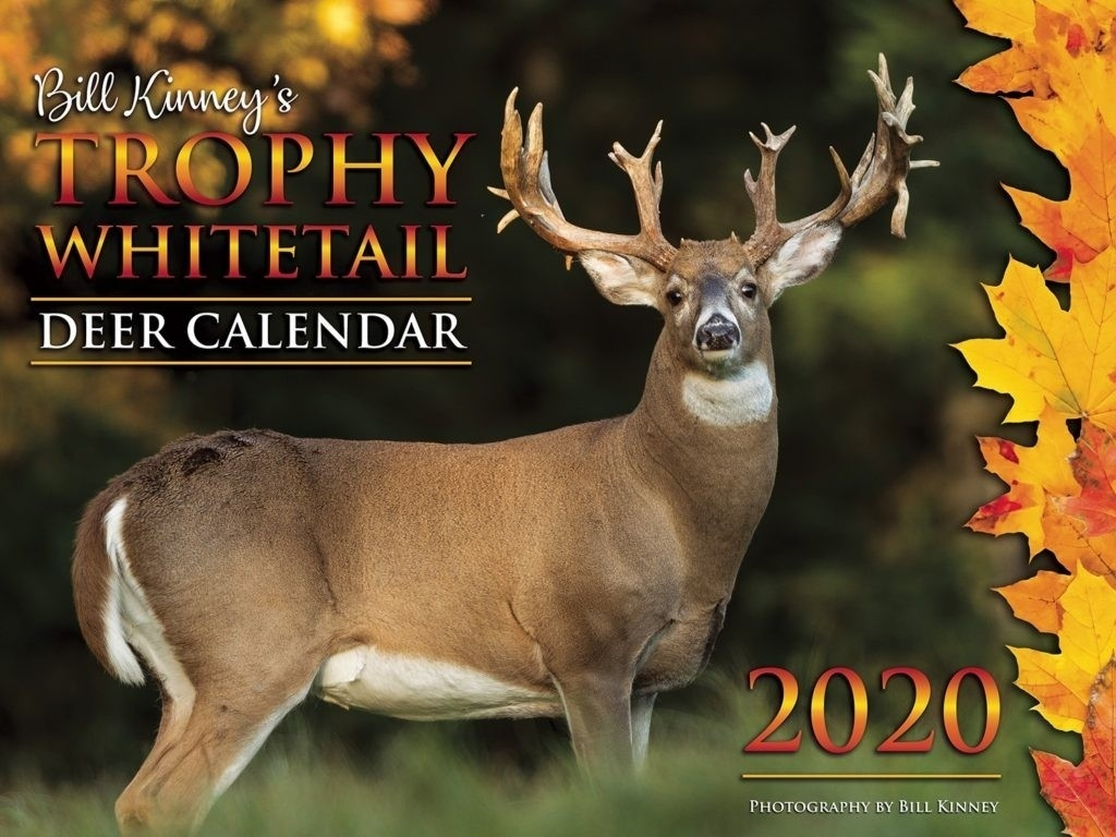 Deer Rut Whitetail 2020 – Template Calendar Design-Md Deer Rut 2021