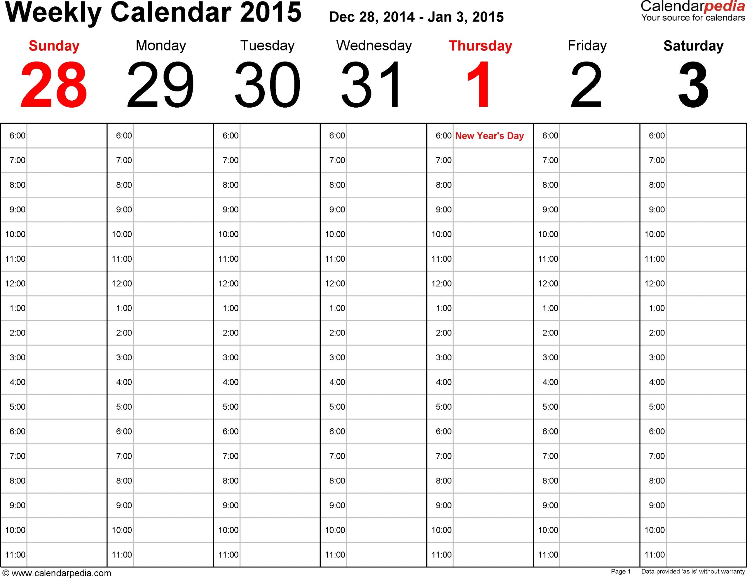 Fillable 1 Week Calendar | Ten Free Printable Calendar 2020-2021-Free Fillable Calendars 2021