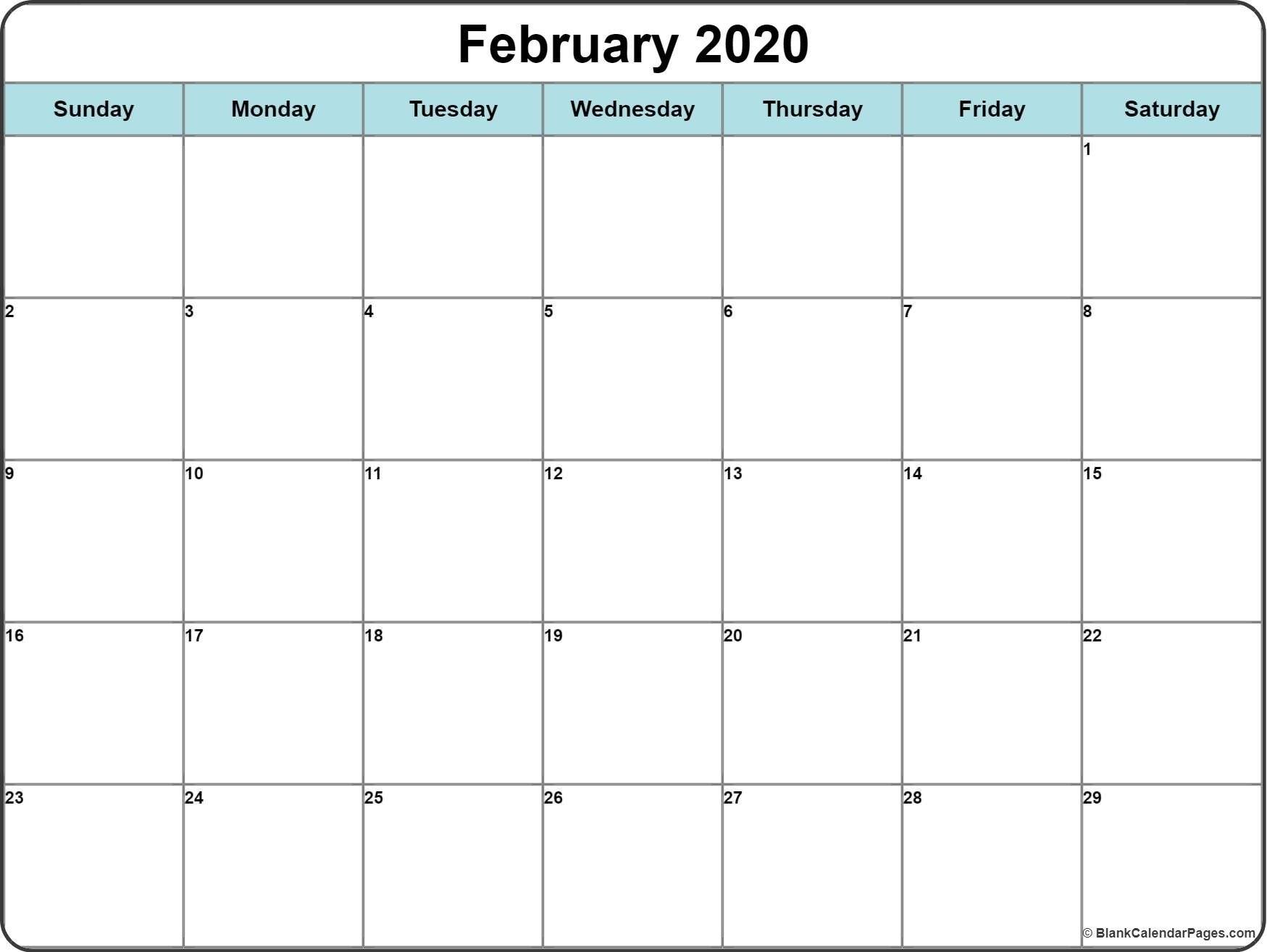 Free Printable Calendar Editable | Ten Free Printable Calendar 2020-2021-Free Fillable Calendars 2021