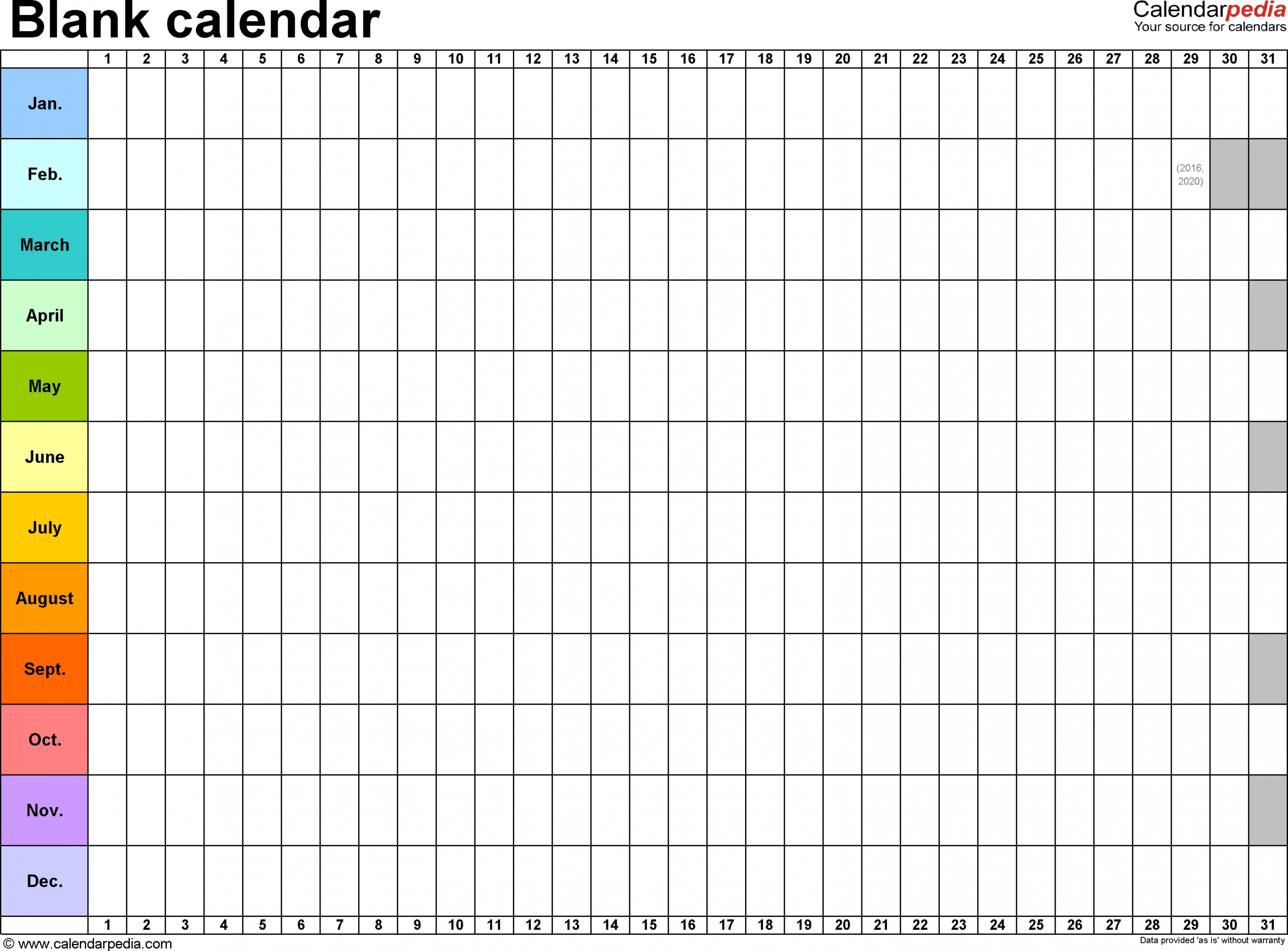 Free Printable Calendar Year On One Page | Ten Free Printable Calendar 2020-2021-Blank I 9 Form 2021