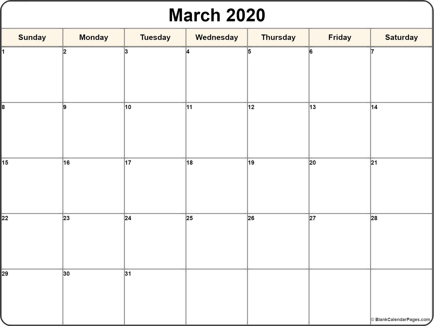 Free Printable Fill In Calendars 2020 | Calendar Template Printable Monthly Yearly-Fill In Year Calendar Template