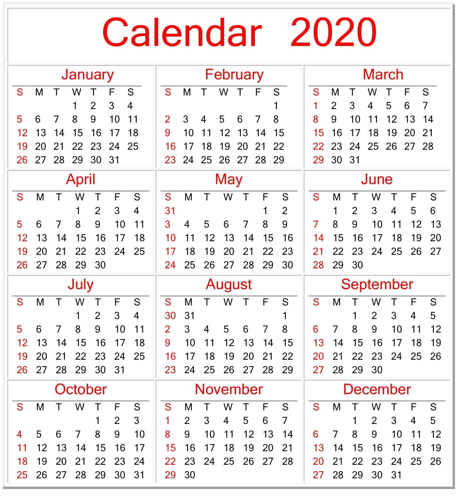 Free Printable Pocket Calendars 2020 | Calendar Template Printable Monthly Yearly-Pocket Calendar Free Online