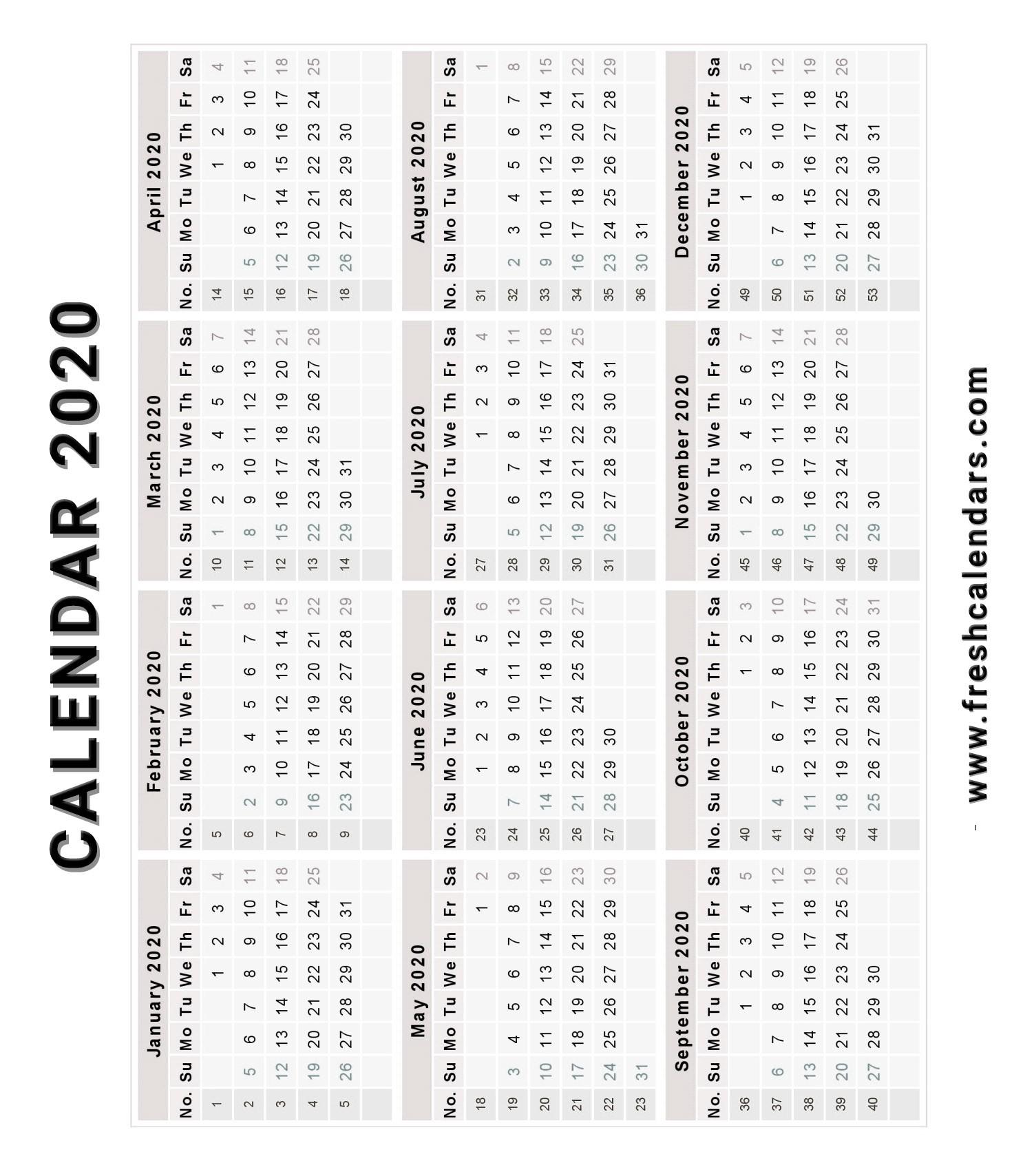Free Printable Vertical Calendar 2020 | Month Calendar Printable-Monthly Fill In Calendar 2021