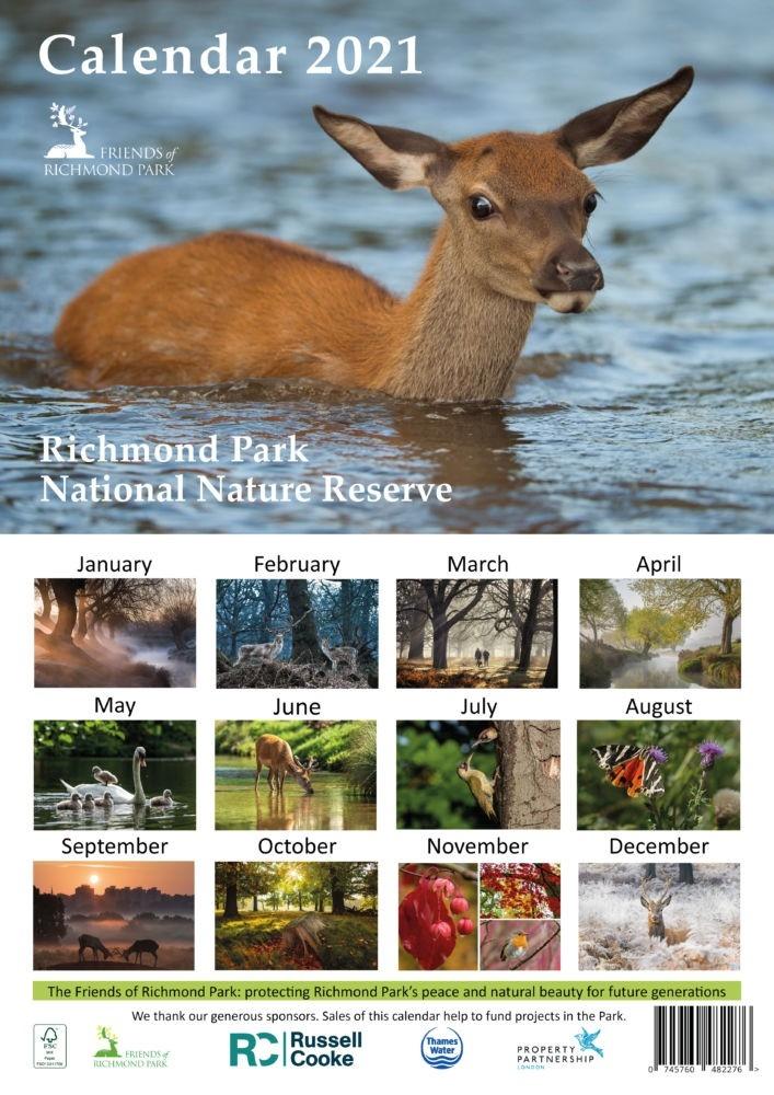 Home - Friends Of Richmond Park-2021 Deer Rut Calendar In Kentucky
