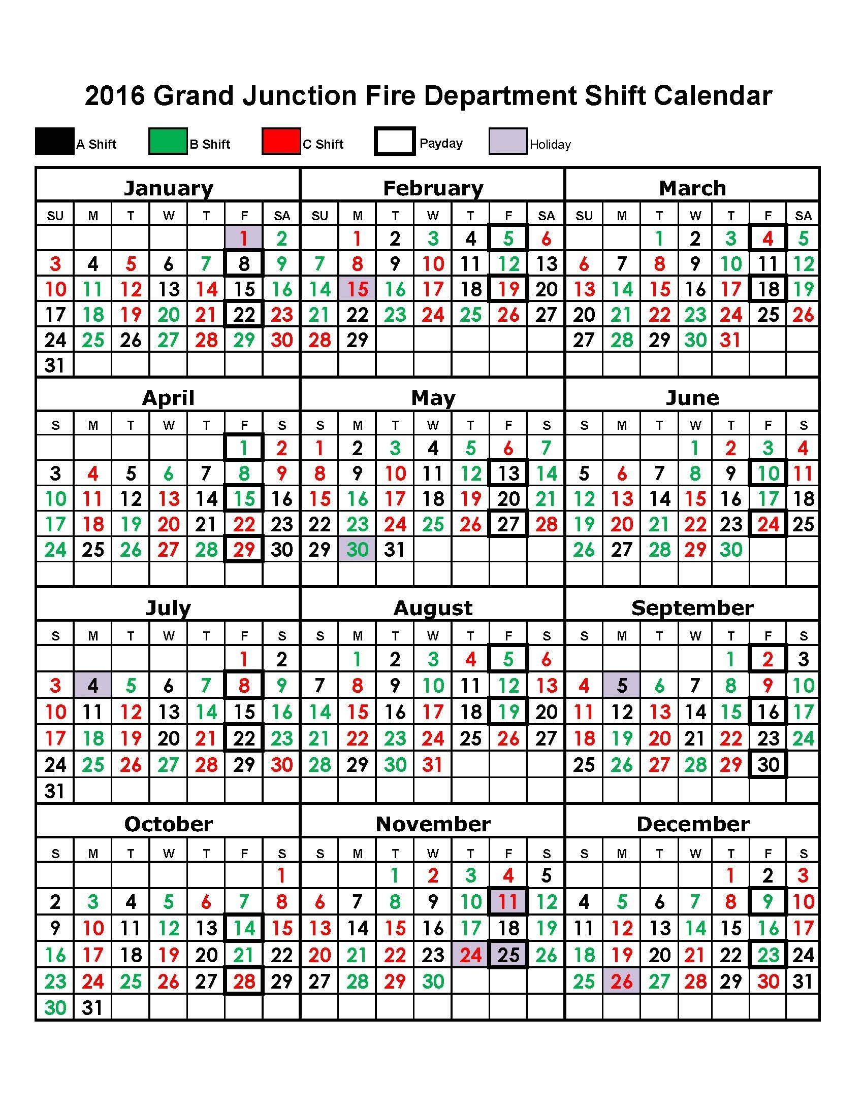 Houston Fire Department Shift Calendar | Printable Calendar 2020-2021-Calendar For Shift Work 2021