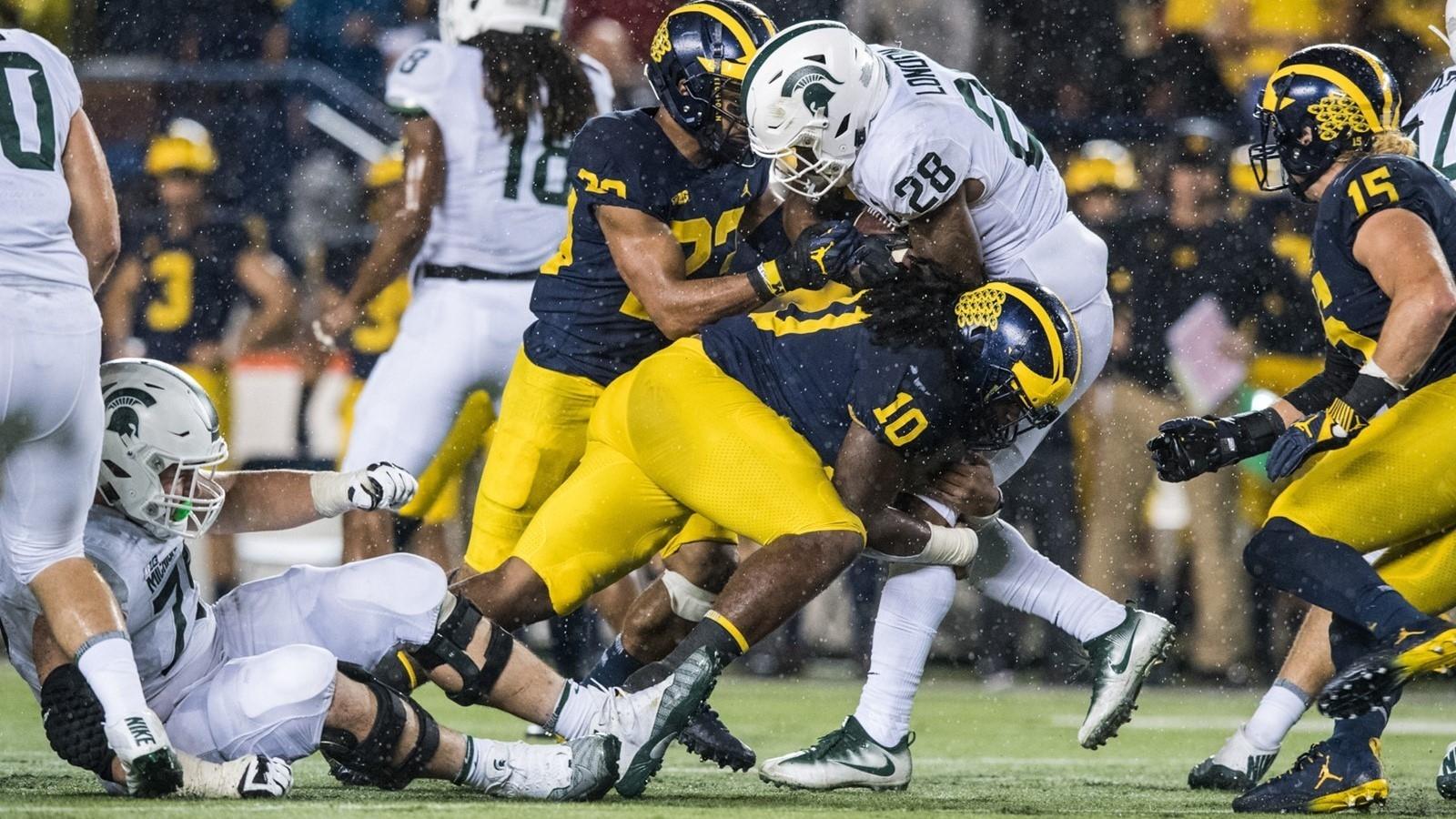 Michigan Football: Michigan State Vs Maryland Football 2017-Up Michigan 2021 Rut Predictions