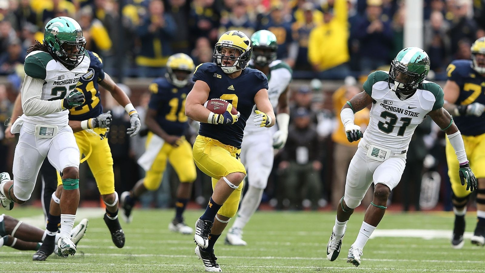Michigan Vs. Michigan State Game Preview: How To Watch, Score Predictions And More - Maize N Brew-Up Michigan 2021 Rut Predictions