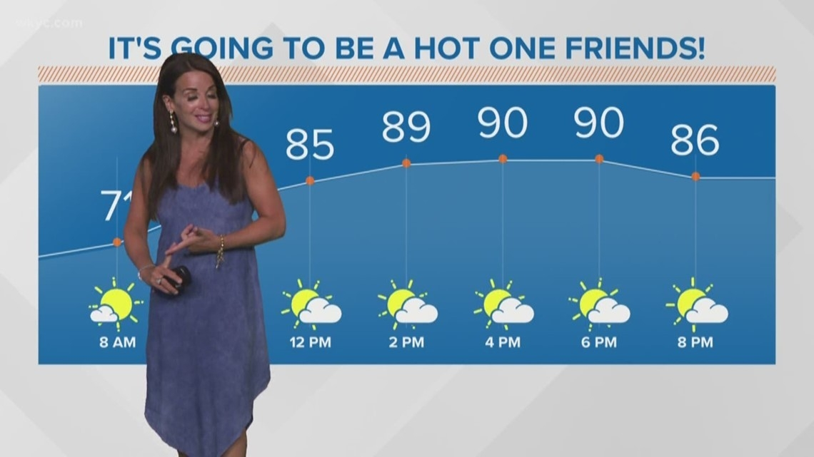 Morning Weather Forecast For Northeast Ohio: July 18, 2019 | Wkyc-Northeast Rut Preditctions For 2021