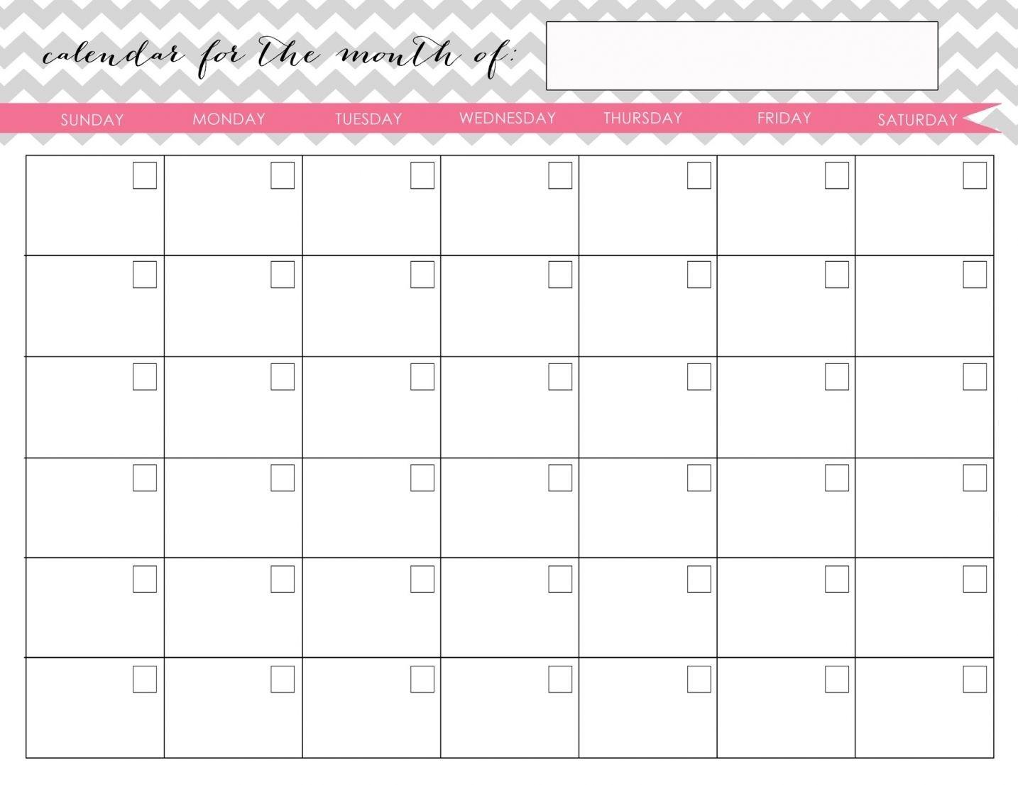 My Homekeeping Binder Kit   Monthly Calendar Printable, Calender Printables, Calendar Printables-Printable Fill In Calendar By Month