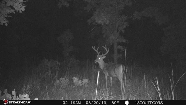 Osage 100 - Oklahoma Lease 2020 - Hunt 180-Dates For Indiana Deer Rut 2021