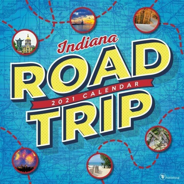 Road Trip: Indiana Wall Calendar 2021 | Ebay-Indiana 2021 Deer Calender