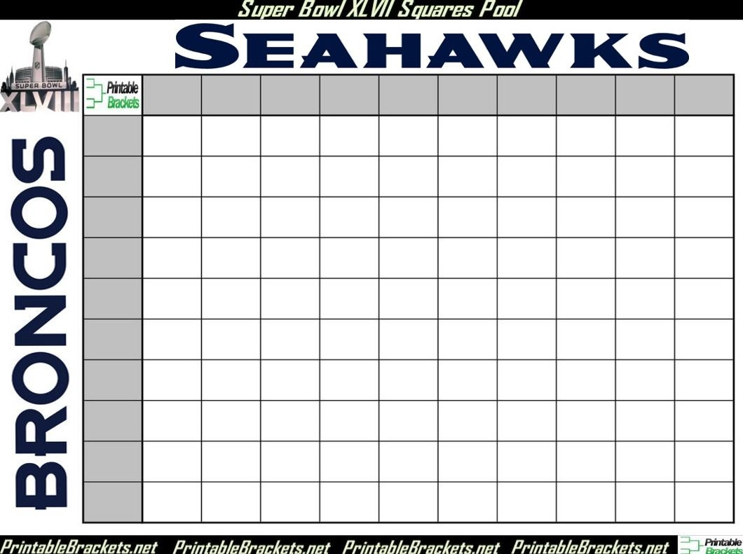 """Search Results For """"Football Superbowl Squares"""" – Calendar 2015-Printable Monthly Blank Calendars Showing Nfl Games"""