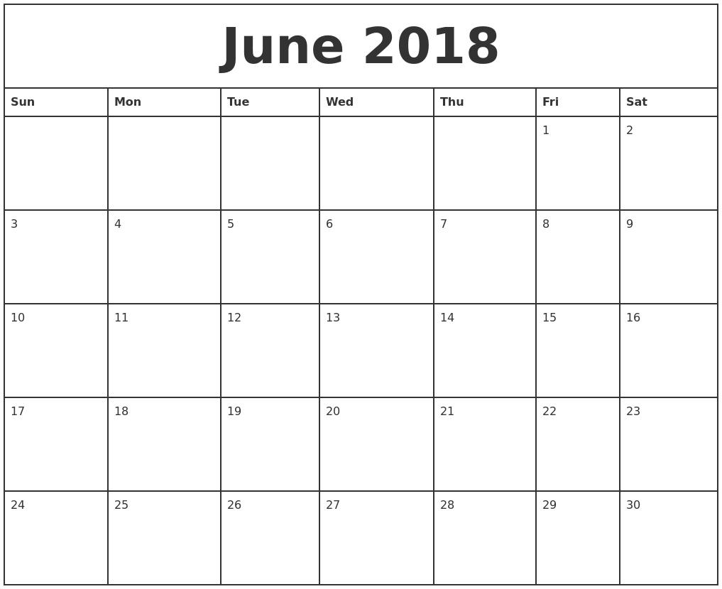 September 2018 – Page 3 – Template Calendar Design-Free Fill In Printable Calendars
