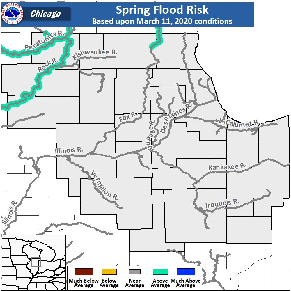 Spring Flood Outlook For Northeast Illinois And Northwest Indiana-Indiana Rut Predictions 2021