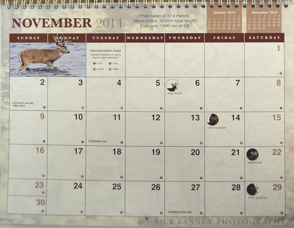 Whitetail Rut Calendar | Calendar Image 2020-Rut Predictions For Michigan 2021