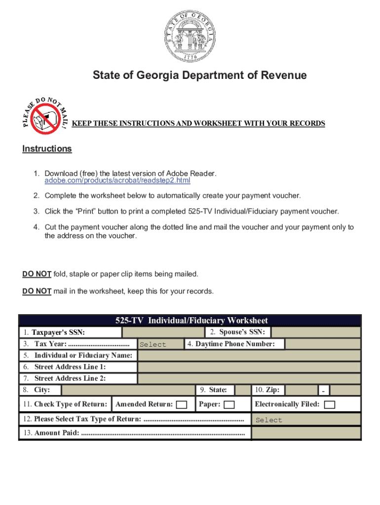 2020 Form Ga Dor 525-Tv Fill Online, Printable, Fillable-Free Printable I 9 Form 2021
