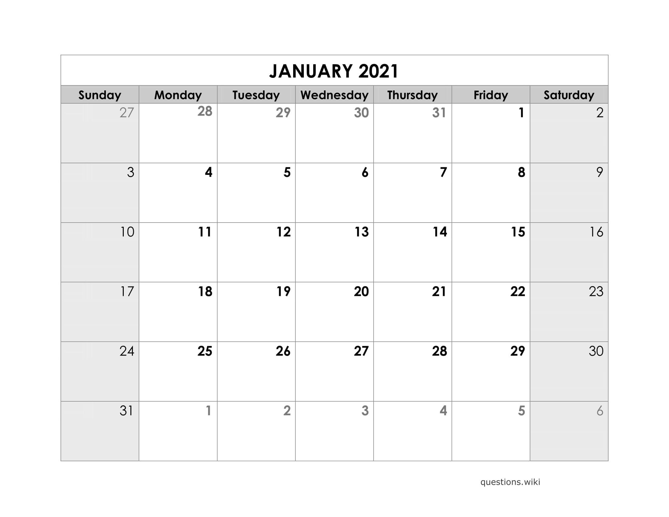 2021 Calendar Online Download Free Printable With Months-Online Calendar 2021