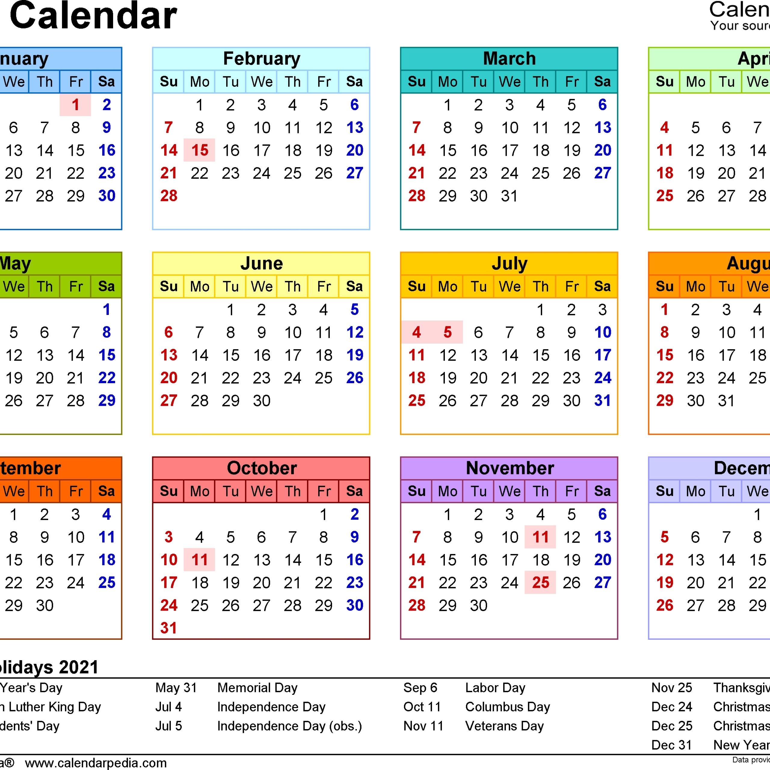 2021 Calendar South Africa | Calendar Printables, Calendar-Calendar 2021 South Africa Free Printable