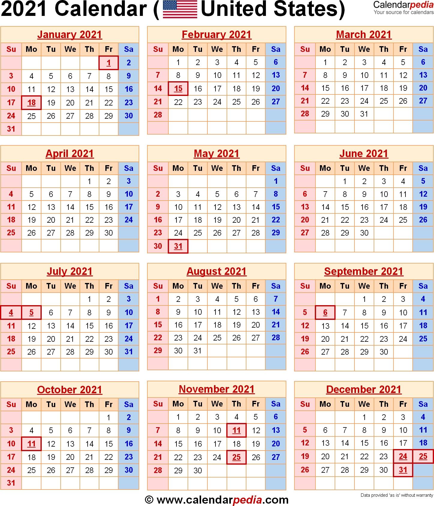 2021 Calendar With Federal Holidays-Bank Holidays Calendar 2021