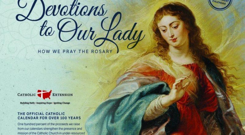 2021 Catholic Calendar - Catholic Extension-Catholic Church Year 2021