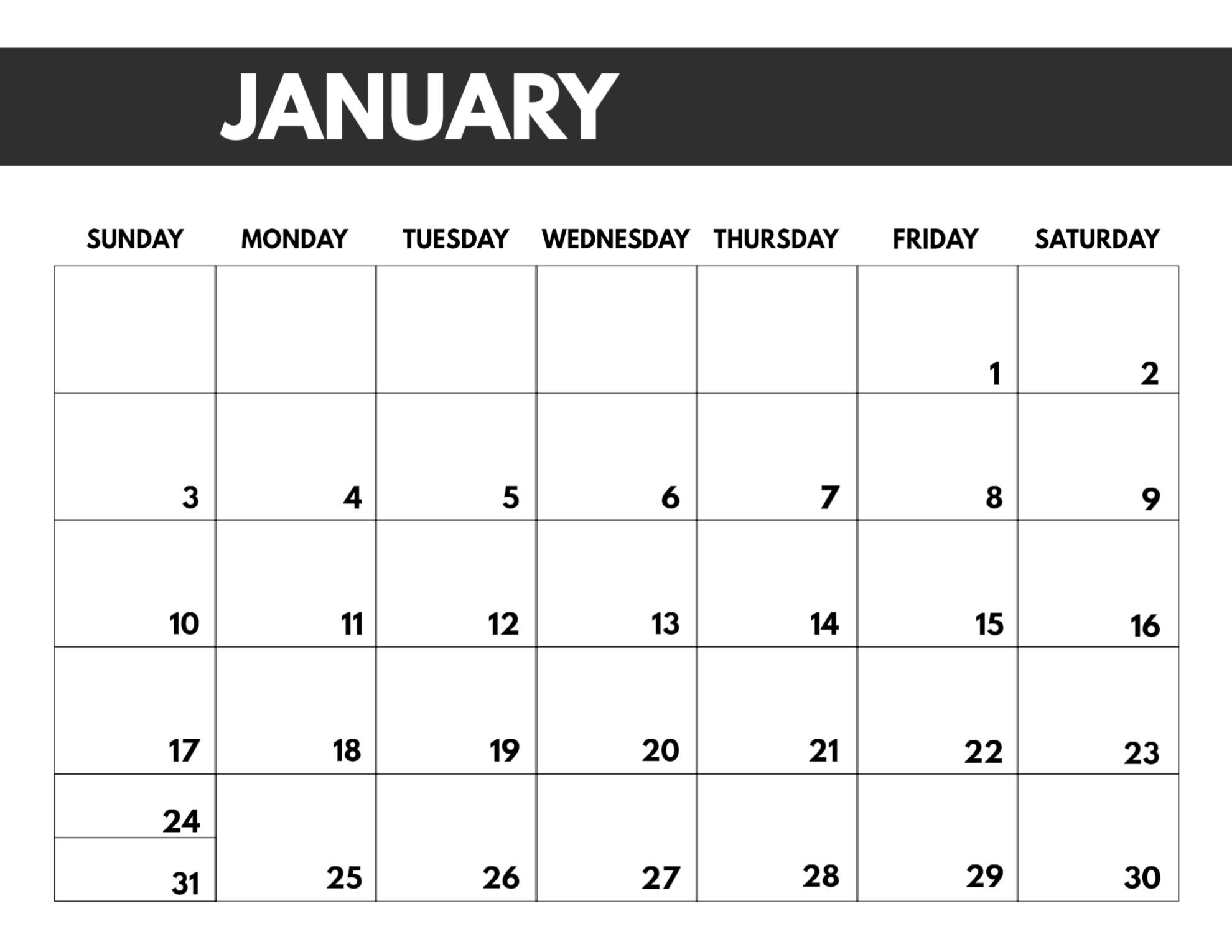 2021 Free Monthly Calendar Templates   Paper Trail Design-Free Monthly Calendar Printable 2021