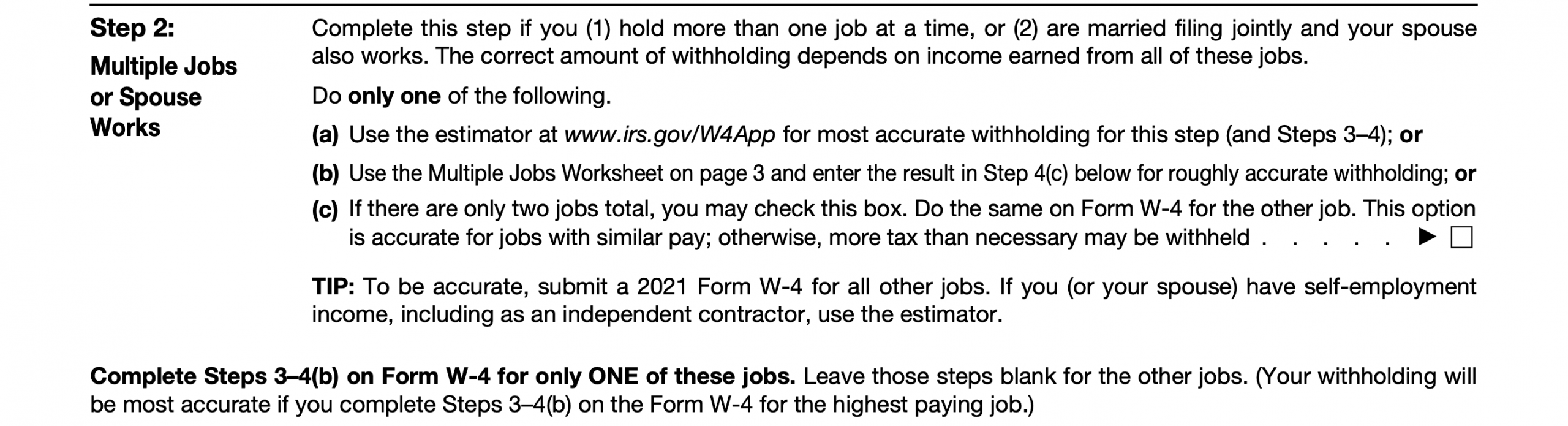 2021 Irs Form W-4: Simple Instructions + Pdf Download-2021 Printable Irs Forms W-4