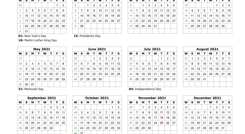 Blank Calendar 2021 | Free Download Calendar Templates-Microsoft Free Calendar Template 2021