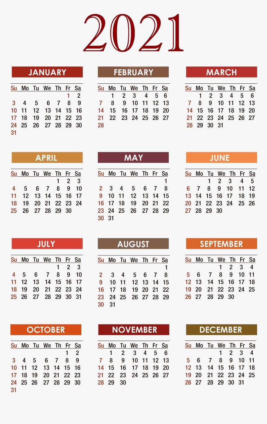 Calendar 2021 Png Free Download - Free Printable 2020-Calendar 2021 South Africa Free Printable