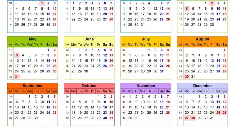 Calendar 2021 (Uk) - Free Printable Pdf Templates-2021 Calendar Uk Printable