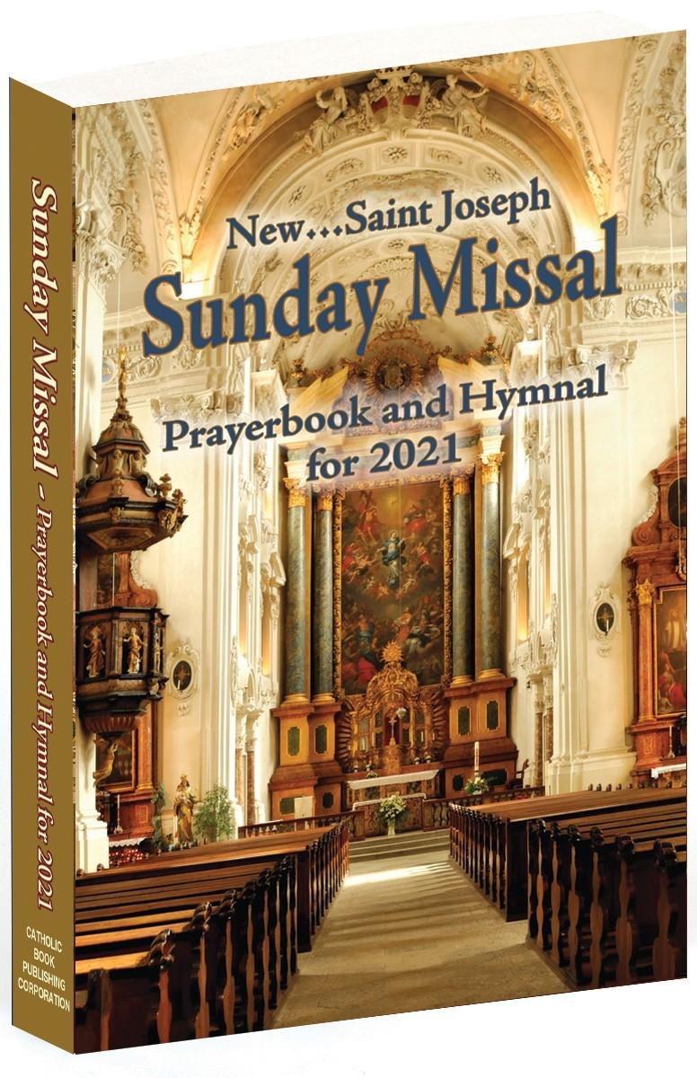 Catholic Book Publishing - St. Joseph Sunday Missal-Catholic Church Year 2021