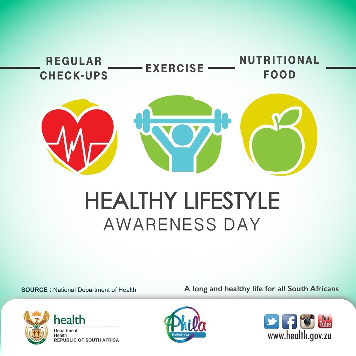 "Department Of Health On Twitter: ""Today Is Healthy-Doh 2021 Monthly Health Awareness"