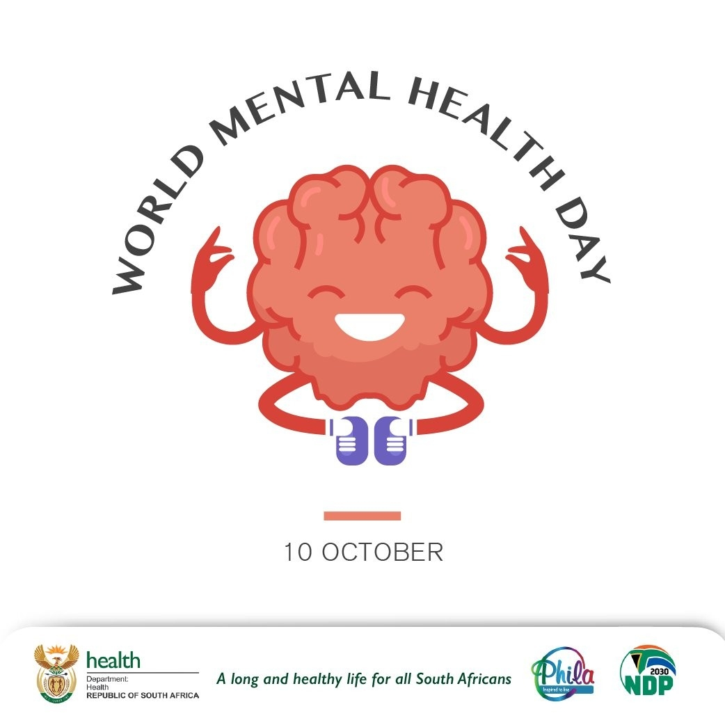 "Department Of Health On Twitter: ""Today Is World Mental-Doh 2021 Monthly Health Awareness"