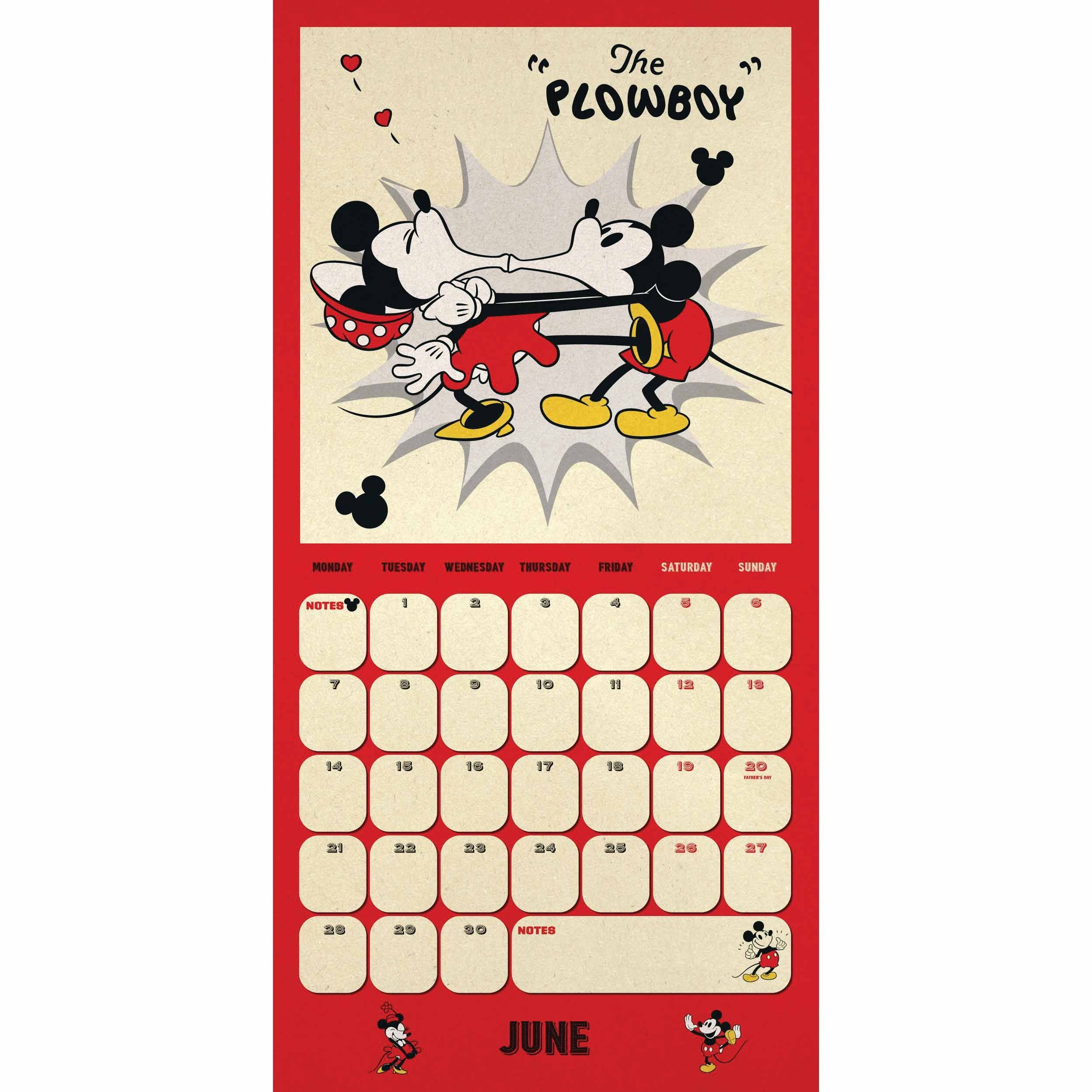Disney, Mickey Mouse Official Calendar 2021 At Calendar Club-Calendar May 2021 Free Printables With Mickey Mouse
