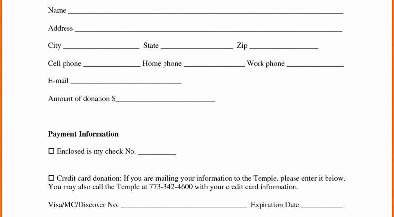 Donation Form Template Income Tax Request Pdf Free Non-Free Printout Tax Desk Card