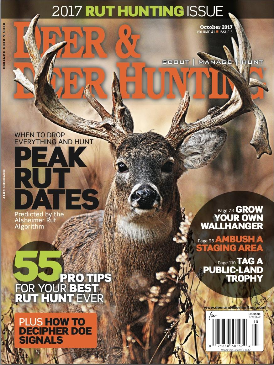Get The Best Lunar Rut Predictions With Deer & Deer Hunting-Peak Rut Predictions For 2021