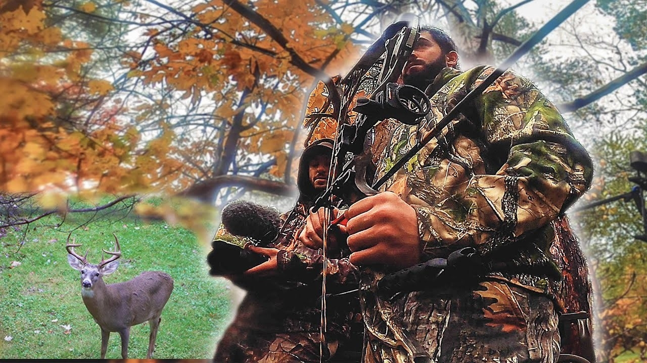 Insane Early Rut Activity! First Day Deer Hunting 2020-2021 Season-Hunting The Rut In 2021