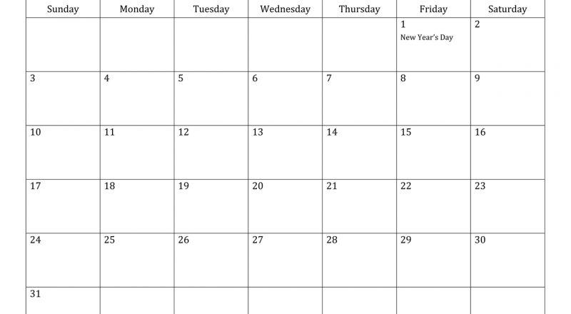 January 2021 Calendar - South Africa-Calendar 2021 South Africa Free Printable