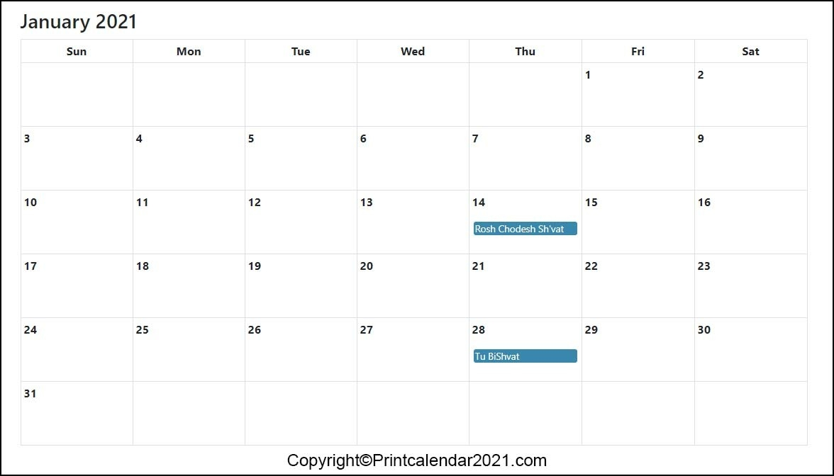 Jewish Holidays Calendar 2021 [Hebrew Calendar 5781]-Jewish Calendar May 2021