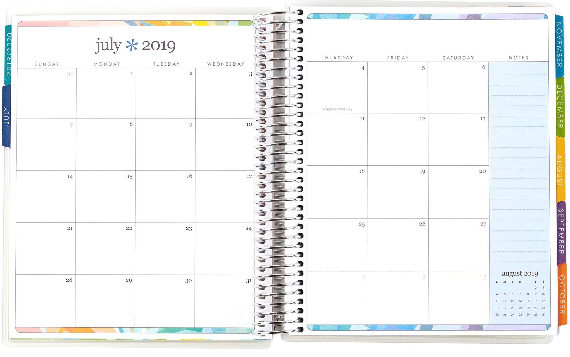 Large Monthly Planner | Deluxe Monthly Planners | Erin Condren-Printable 2021 Weekly Monthly 81/2 X 11