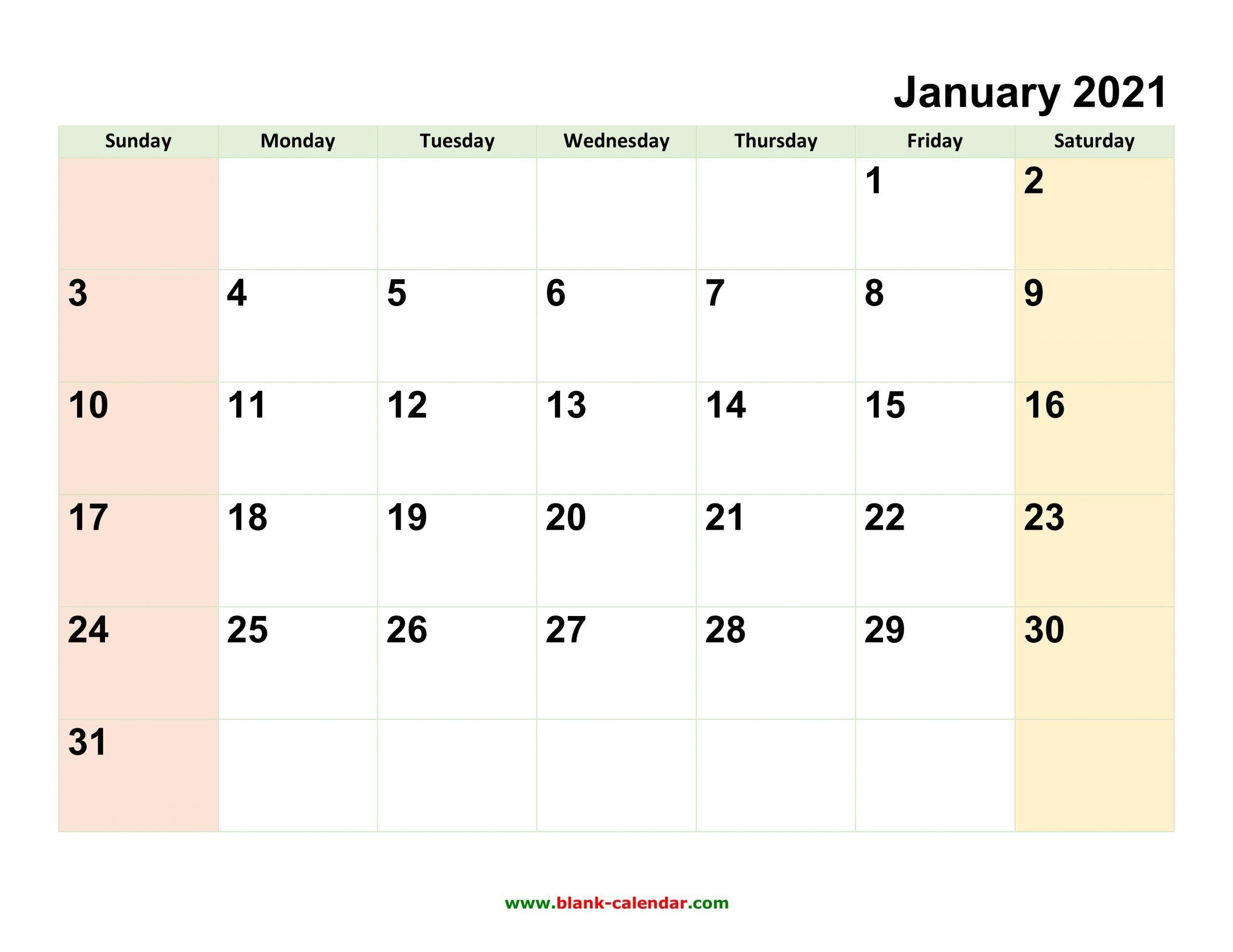 Monthly Calendar 2021 | Free Download, Editable And Printable-Microsoft Printable Calendars 2021