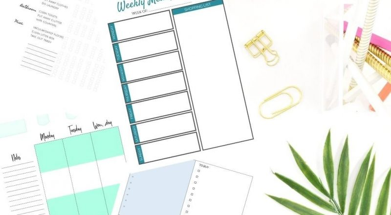 My Top 10 Free Happy Planner Printables | Simple Modern Mom-Free Printable 2021 Happy Planner