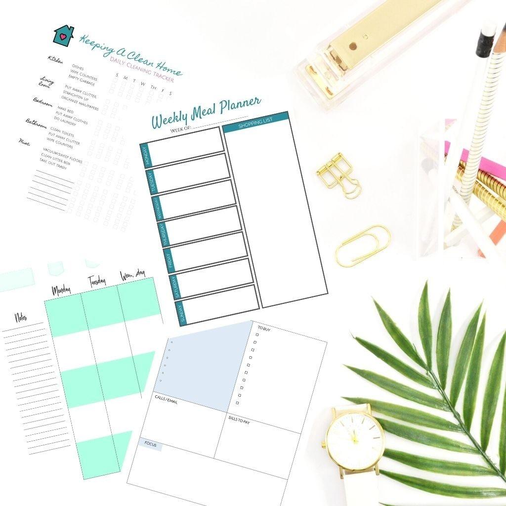 My Top 10 Free Happy Planner Printables   Simple Modern Mom-Free Printable 2021 Happy Planner
