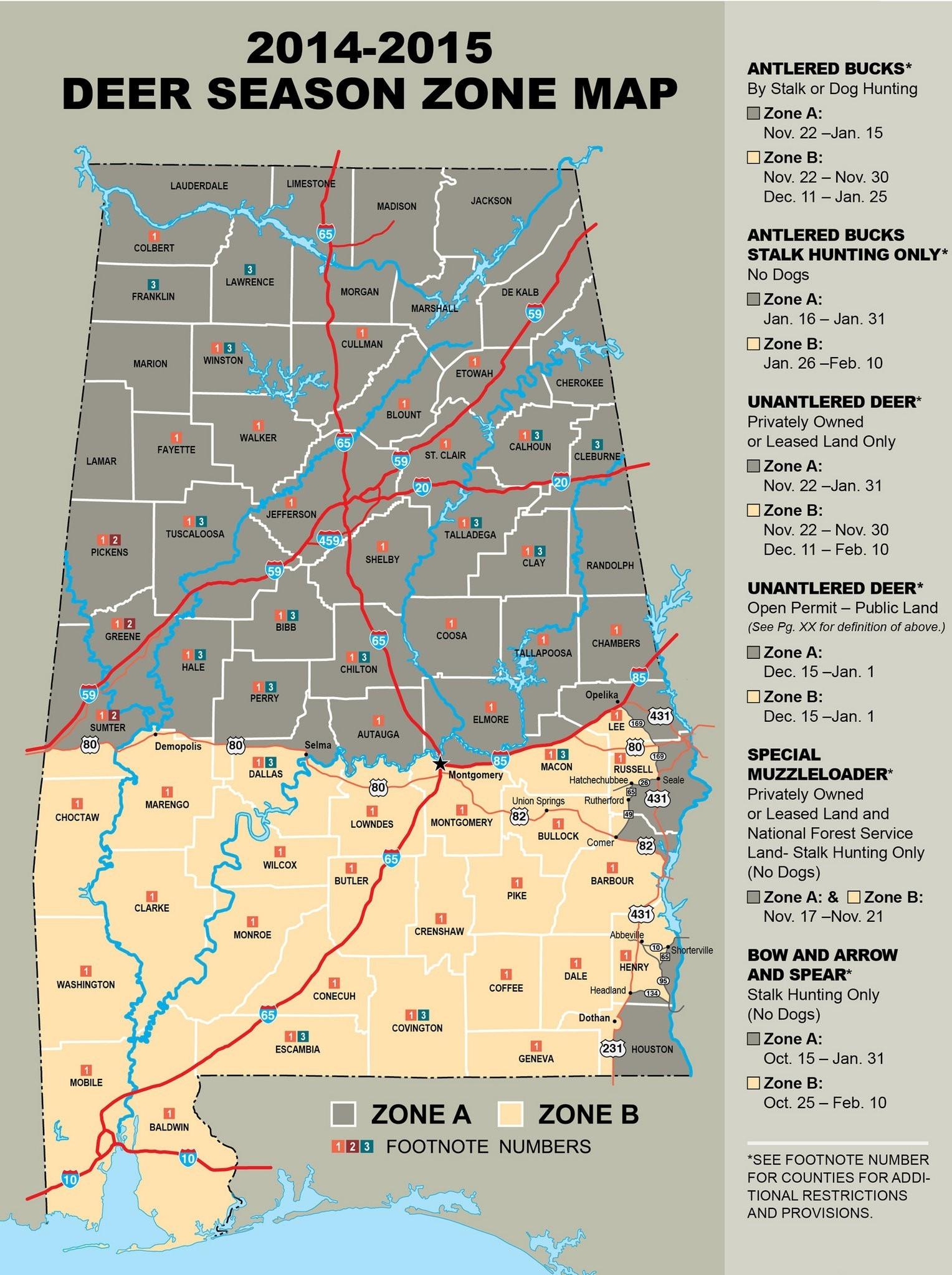 New Deer Season Proposals Considered By State Regulators-Alabama Rut Map 2021