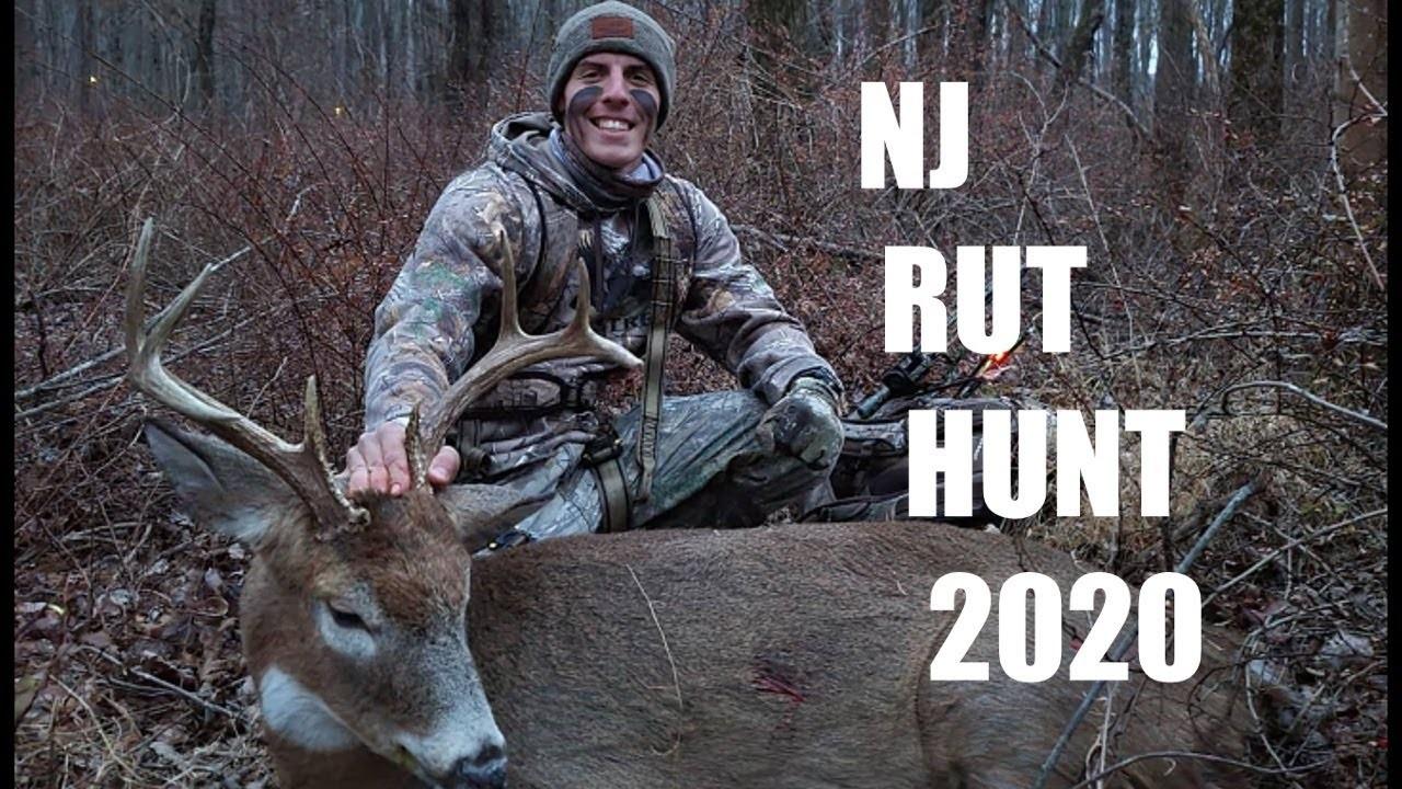 Nj Bow Hunting 2020 8 Pointer (Rut Action)-Nj Deer Rut 2021