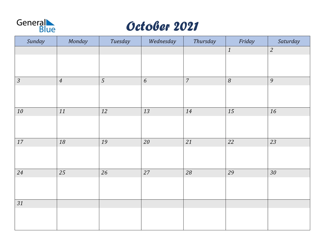 October 2021 Calendar - Pdf Word Excel-Edit October 2021 Ms Word