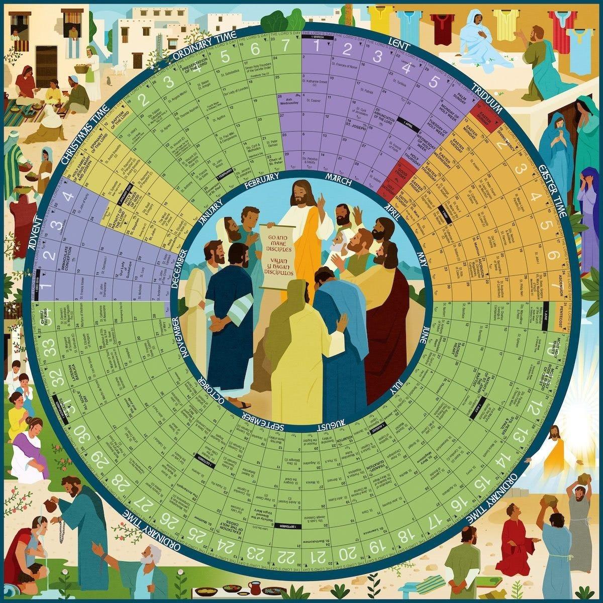 Pin By K J On Liturgical Calendar Catholic Church Focus Is-Catholic Church Year 2021